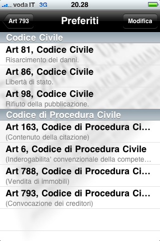 You are browsing images from the article: Codici civile e procedura civile