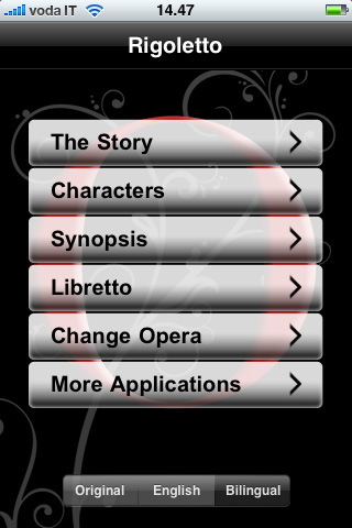 You are browsing images from the article: THE OPERA: 24 librettos of opera masterpieces on your iPhone / iPod Touch